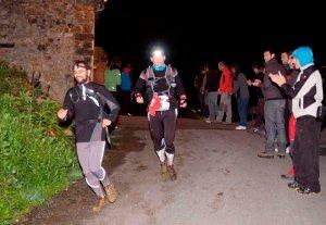 En el Desafío Cantabria con las Salomon XTwings3, 89k sobre barro y rocas.