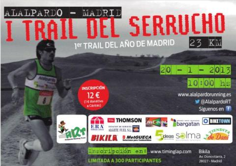 trail serrucho 2012 cartel