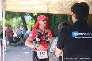 Gran Trail Peñalara 80k 2012 Luis Alonso Marcos vencedor de carrera.