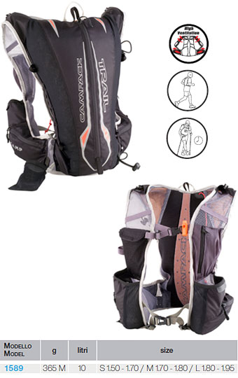 Mochila ultra trail Camp Trail  Light vest 10L 2012.
