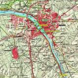 MIllas Romanas Mérida 2013 mapa bucle 1