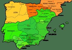 Mapa del Reino de Pamplona