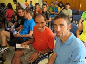 Mohamed Ahansal con Luis Alberto Hernando
