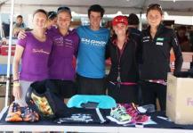 Emelie Forsberg y compañeros Salomon Running Pikes Peak Marathon 2012 Jornet Miro y más.