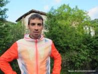 Adidas trail running luis alberto hernando y uxue fraile en Zegama (2)