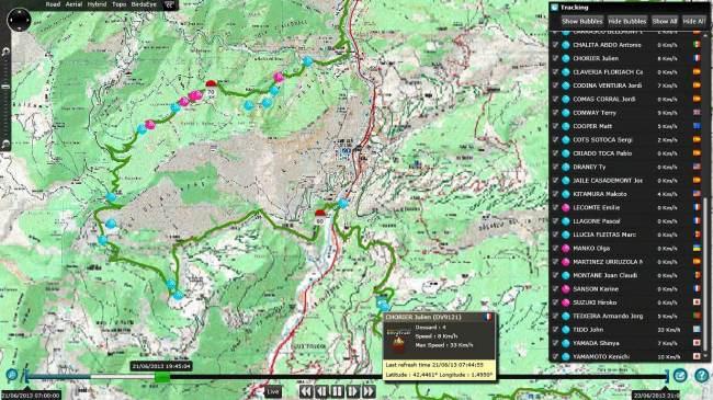 Andorra Ultra trail status 20h 21jun13