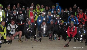 Gran Trail Peñalara 2013: Entrenamiento guiado nocturno invernal a Maliciosa.