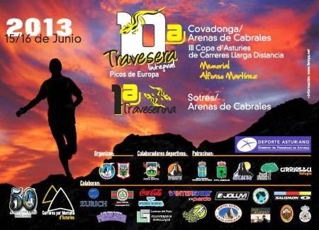 Travesera Picos Europa 2013: Cartel oficial.