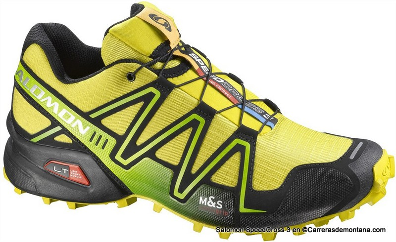 salomon mountain trail-running speedcross 3 9mm