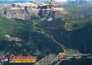 Carreras Montaña 2013 Dolomites Sky race