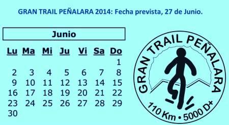 Gran trail Peñalara 2014 fecha 27 de Junio 2014.