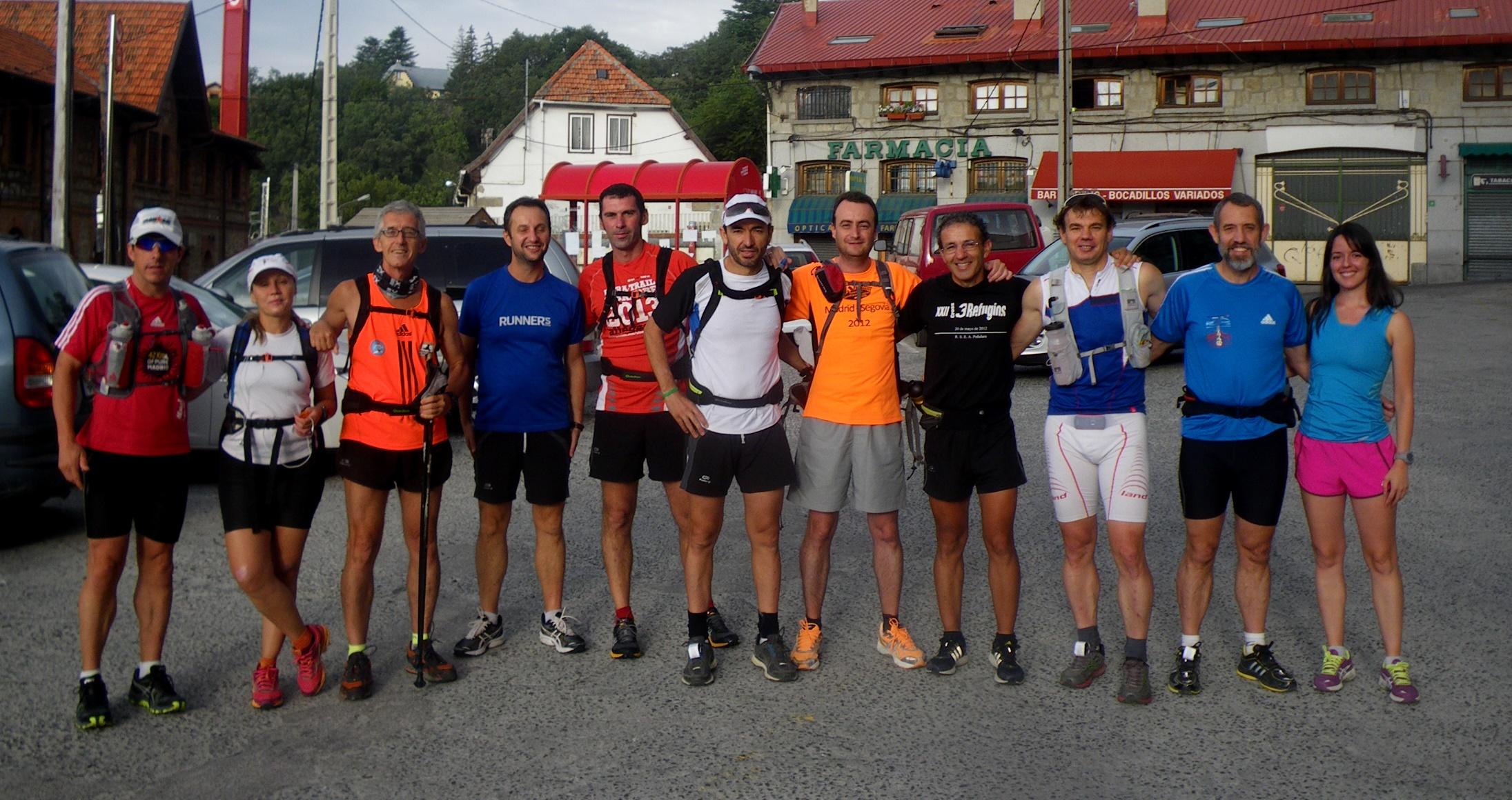 100 Km Madrid Segovia 2013 21sep Guía De Carrera Análisis Recorrido Y Material Ultra Trail Recomendado Carreras De Montaña Por Mayayo