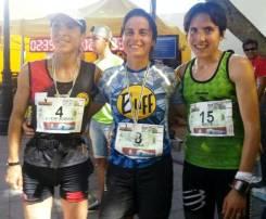 Nuria Dominguez Azpeleta carreras montaña 2013 Meta Haria con Maite Maiora (1)