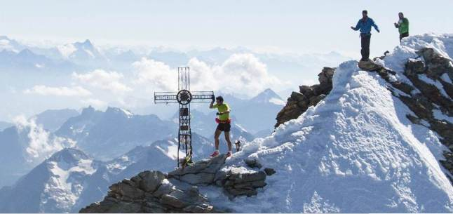 Kilian Jornet record Cervino 21ago13 Foto Summits of my Life