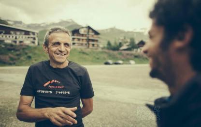 Kilian Jornet y Bruno Brunod record Cervino foto Montaz Rosset Visuals