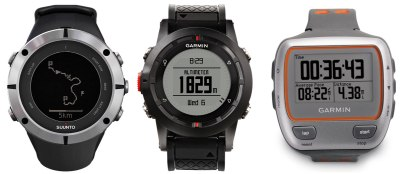 reloj gps running Suunto-Ambit2-Garmin-Fenix-y-Garmin-310XT-los-mejores-relojes-GPS-para-el-corredor-de-montana
