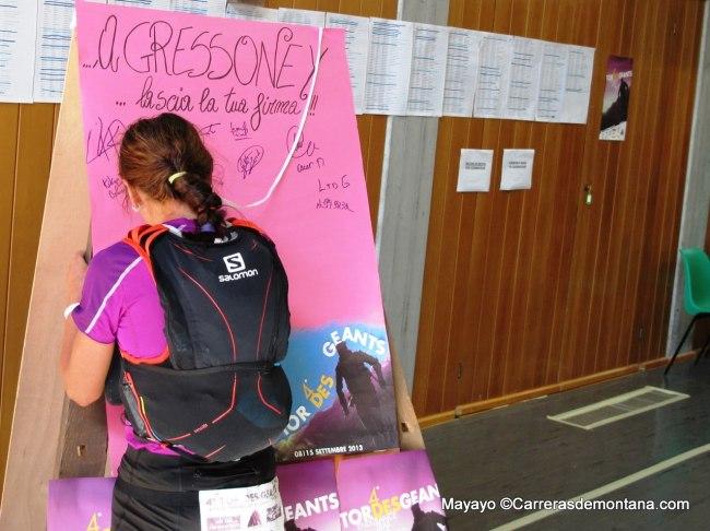 tor des geants 2013 fotos: Nerea Martinez sale lider de Gressoney 203k Foto Mayayo