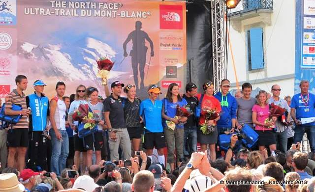 Resultados ultra trail mont blanc 2013: Foto podio.