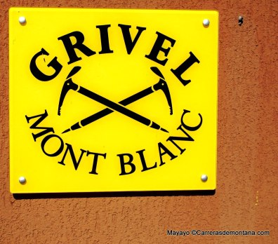 Grivel Mont Blanc Puerta de entrada a la central Grivel