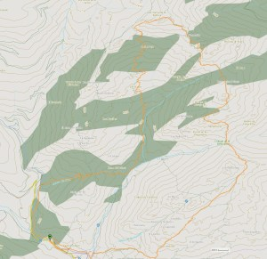 Cross Pedriza 2013 mapa de carrera.