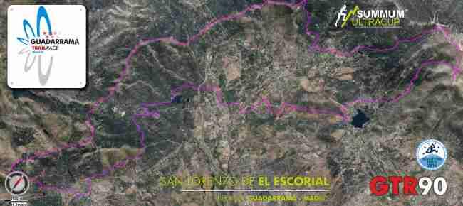 Guadarrama Trail Race  GTR90 Mapa 2oct13