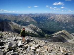 """Entrenamiento Trail Running: Panorámica de los """"Fourteeners"""" de Colorado desde La Plata Peak."""