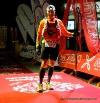 Grivel trail running Salva Calvo 11º en Tor 2013 con bastones Grivel