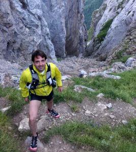 Zapatillas Salomon Slab XT 6 en los Picos Europa.