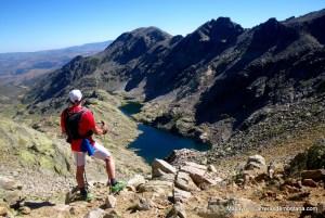 Circuito integral de Gredos: Cinco Lagunas, Galana, Almanzor. Response trail 20 impecables.