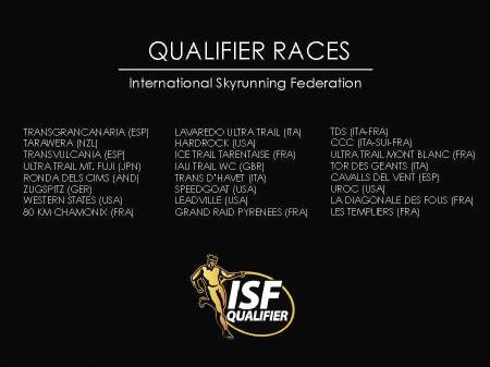 Ranking ultras Skyrunning 2013: carreras clasificatorias