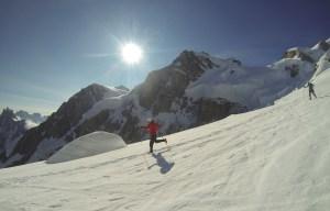 Kilian Jornet Record Mont Blanc. Foto Seb Montaz