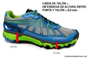Zapatillas trail Dynafit Pantera drop 8mm