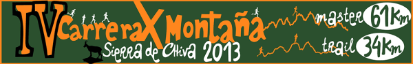 Carreras Montaña Sierra Chiva 2013