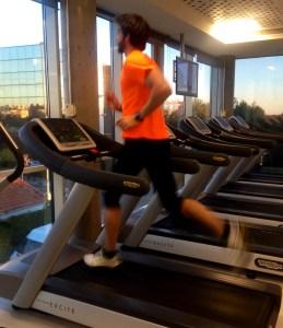 entrenamiento trail running carrera continua en cinta