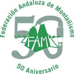 Federacion Andaluza Montañismo logo 50 aniversario