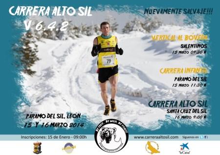 Carrrera Alto Sil 2014 cartel Oficial.