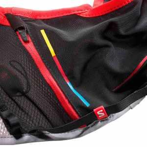 mochila trail running salomon slab 5L bolsillo cintura