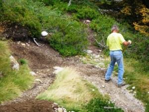 UTMB: Cuidando los viejos senderos la víspera de edición 2013.