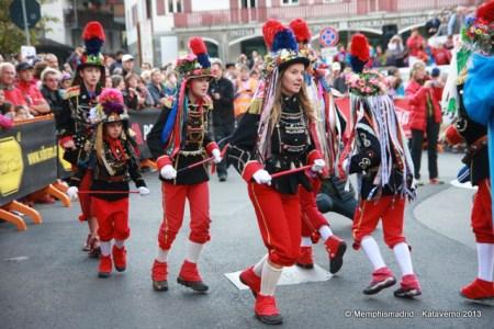 Salida de la CCC 2013: Compartiendo tradiciones valdostanas con medio mundo.