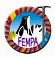logo FEMPA carreras montaña asturias 2014 detalle