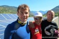 Grivel en aosta, techo solar integral: Mayayo, salva calvo y pablo criado