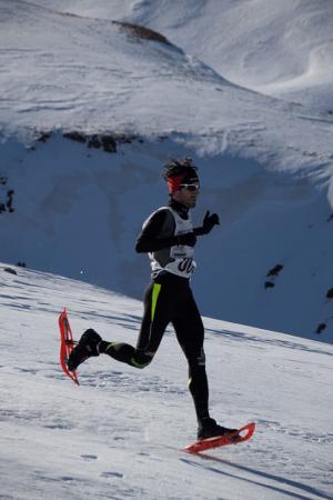Alfonso Rodríguez snowrunning en Campeonato España. Foto: Adrenalina.com