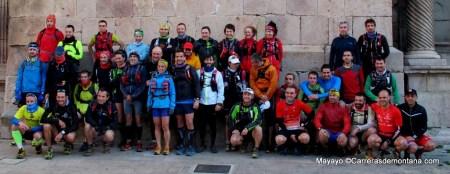 Entrenamiento ultra trail CSP115: Salida grupo 9MAR. Foto Mayayo.