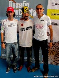 Podio masculino final: 1º Tito Parra 2º Alvaro Rodríguez 3º Alfonso Rodríguez.