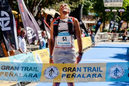 Pedro Bianco, campeón gran trail peñalara 2014