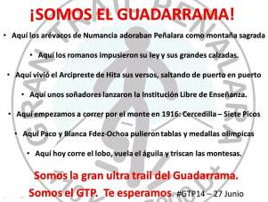Gran trail Peñalara 2014