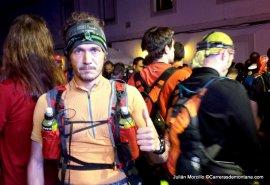 Hiru Haundiak 2014: Nuestro corresponsal Julián Morcillo tomando la salida.