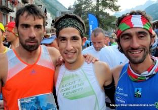Luis alberto hernando adidas trail con Pablo Villa y Aritz Egea en Matterhorn 2013