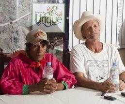 Arnulfo Quimare y Caballo Blanco presentan la Ultra Cañadas del Cobre en Urique.