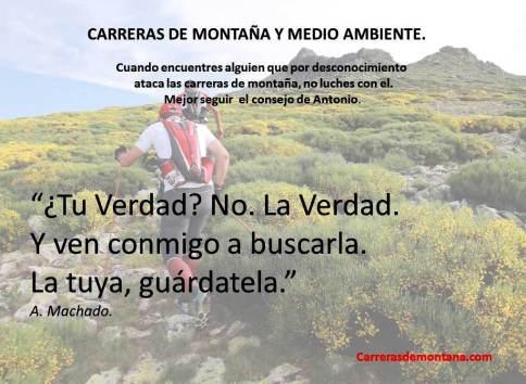 Carreras de montaña y Medio Ambiente